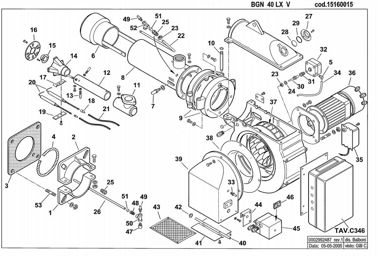 Baltur BGN 40 LX V