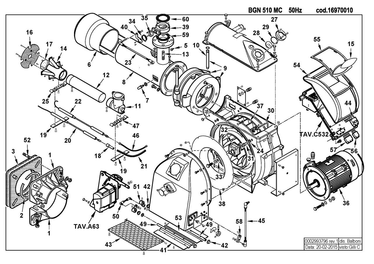 Baltur BGN 510 MC