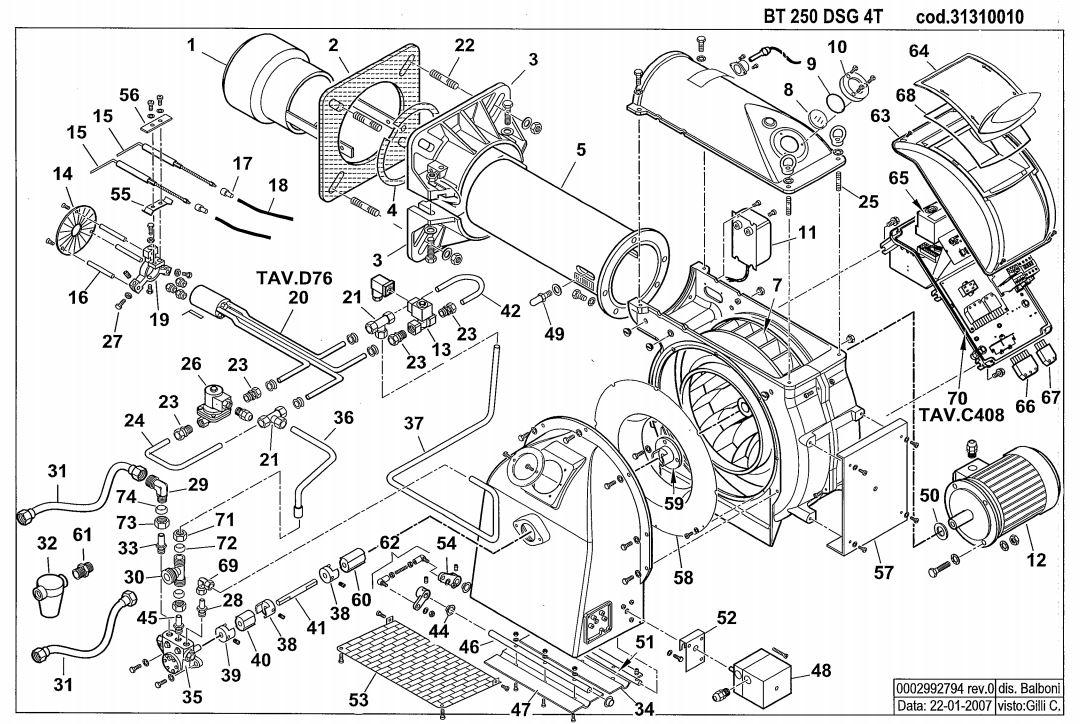 Baltur BT 250 DSG 4T