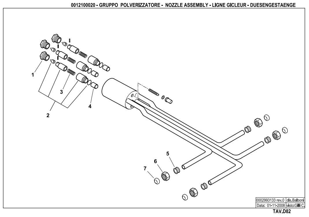 Baltur BT 250 DSG 4T Hinged