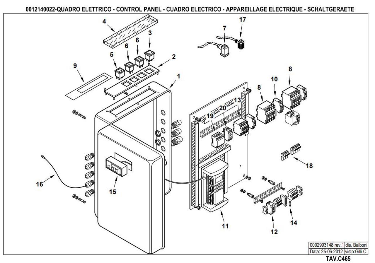 Газовая горелка Baltur GI 500 DSPGN ME