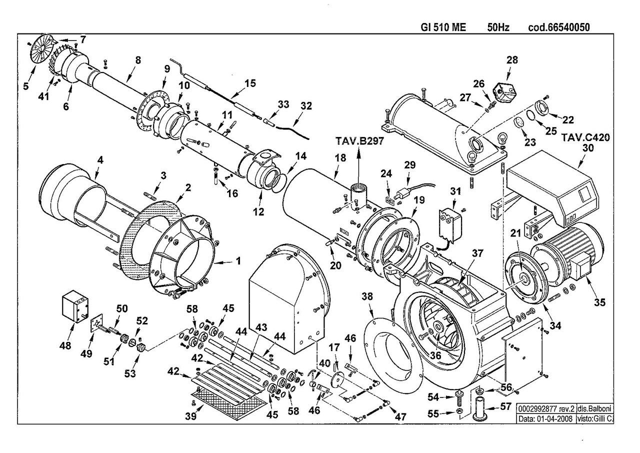 Baltur GI 510 ME