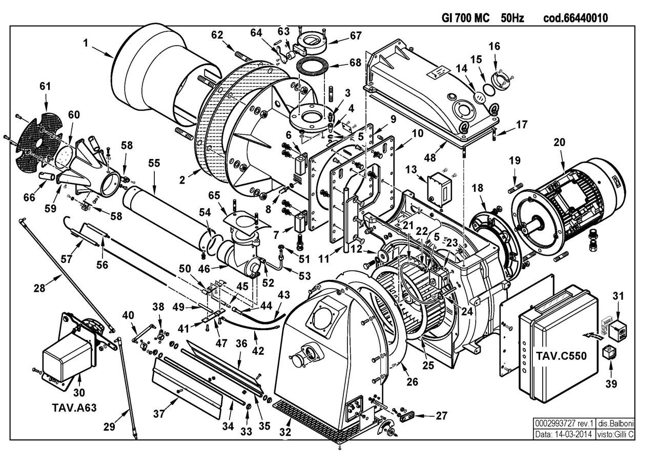 Baltur GI 700 MC