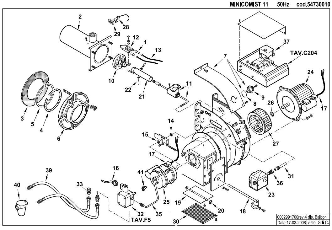 Baltur MINICOMIST 11 L330