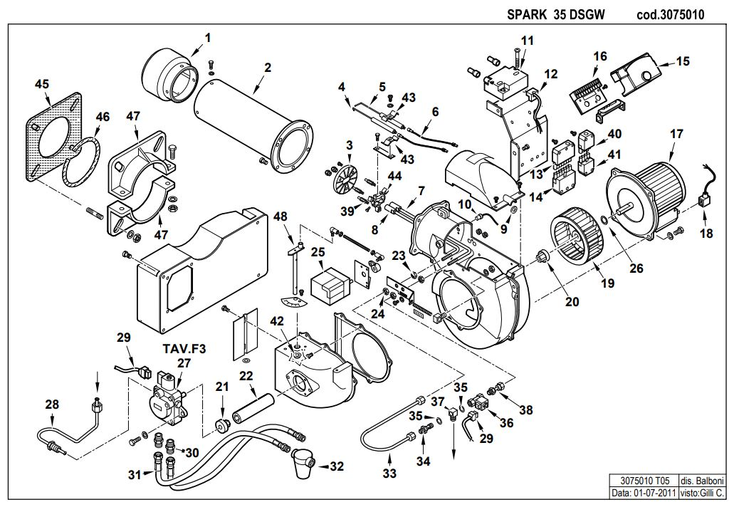 Baltur SPARK 35 DSG W