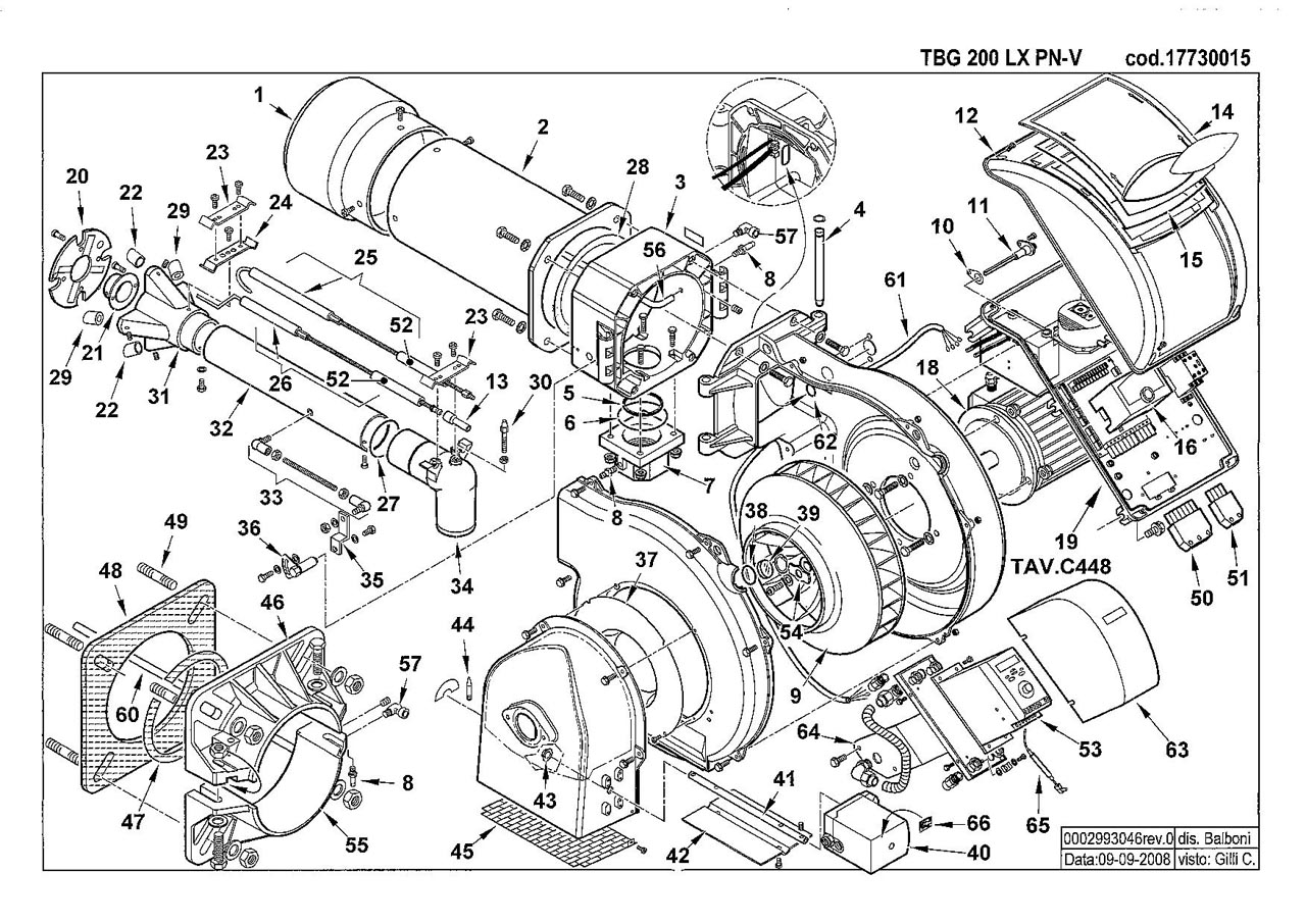 Baltur TBG 200 LX PN V