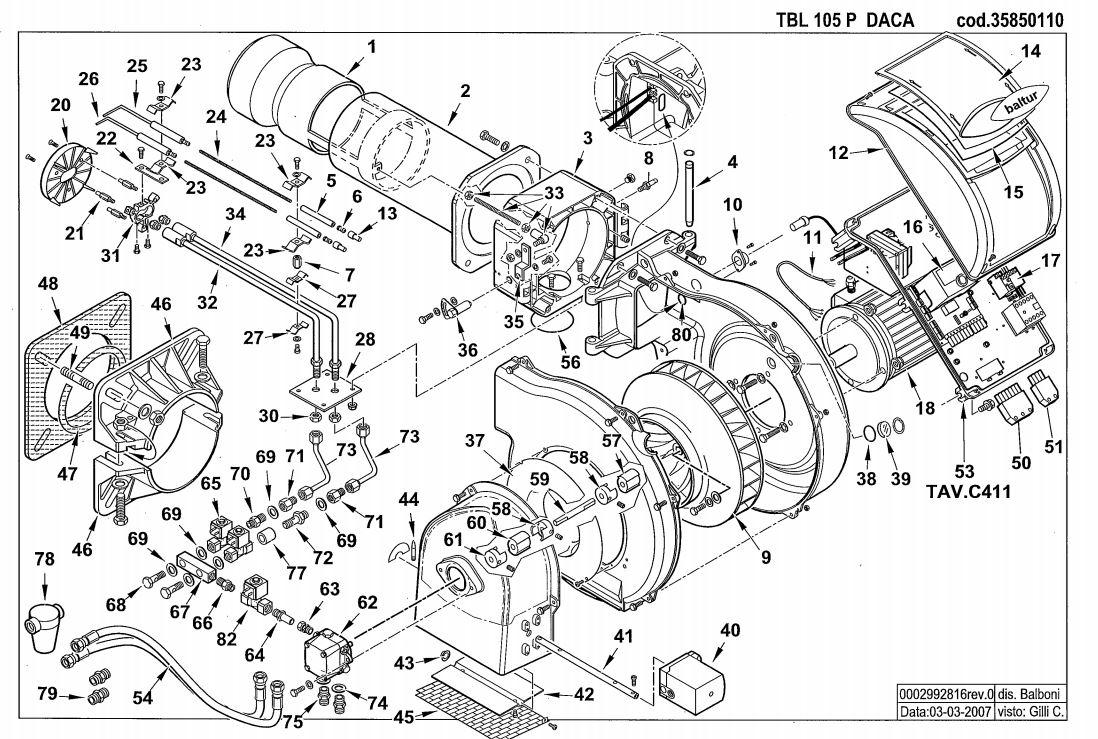 Baltur TBL 105 P DACA