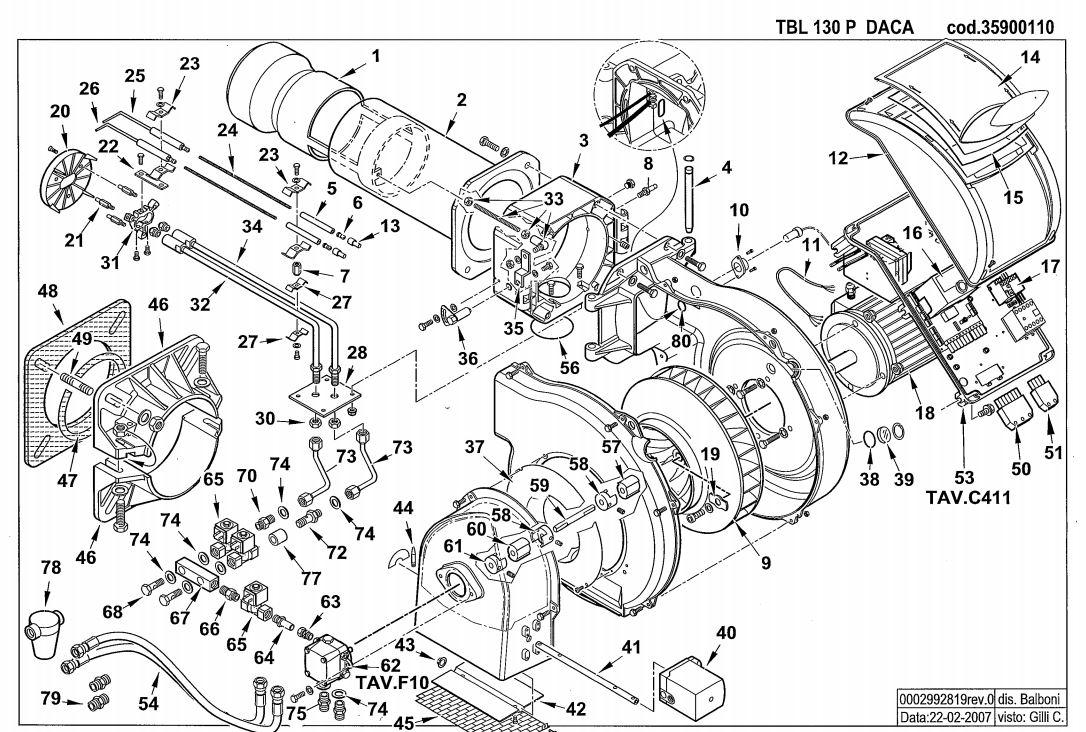 Baltur TBL 130 P DACA