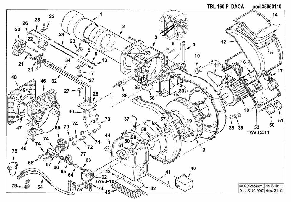 Baltur TBL 160 P DACA