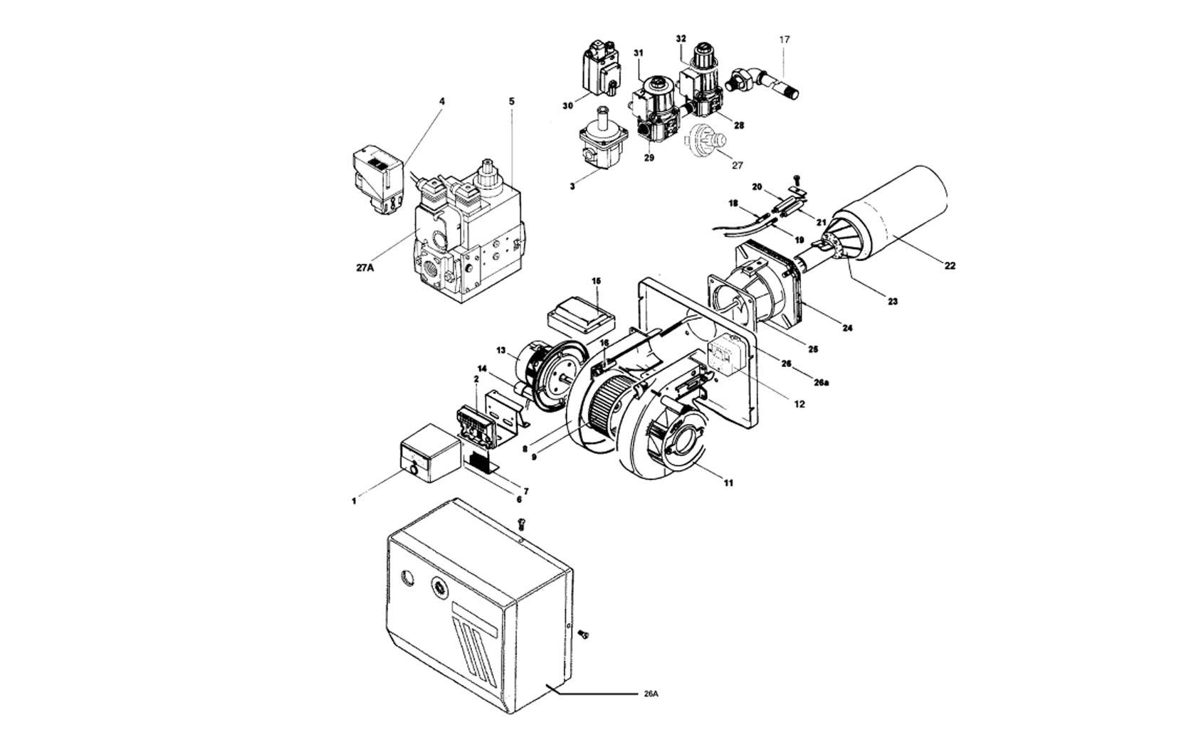CIB Unigas Miniflam Tecnopan S10