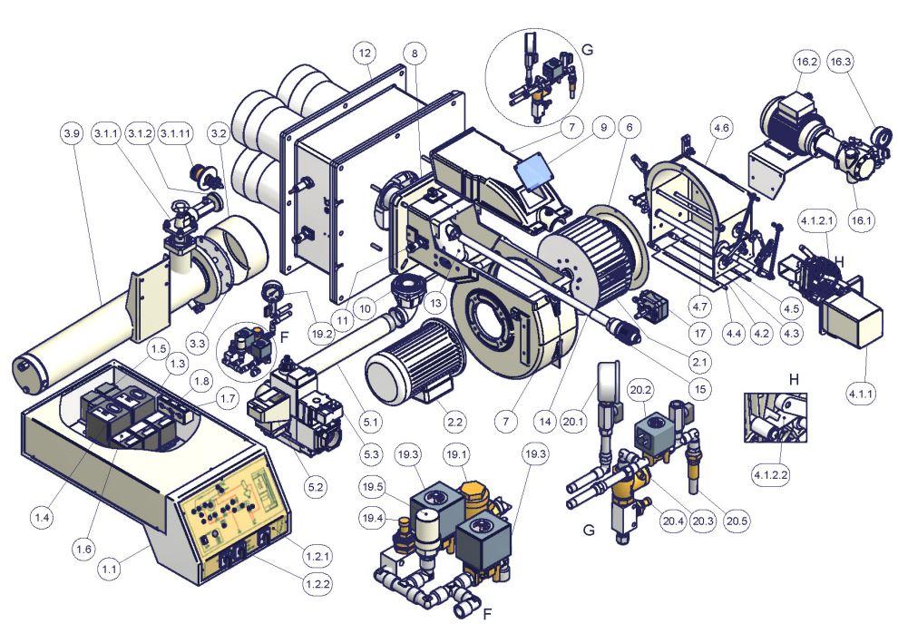 Cib Unigas TECNOPRESS VS KP73..VS