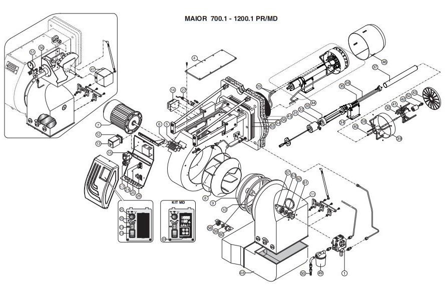 Ecoflam MAIOR P 800.1 PR