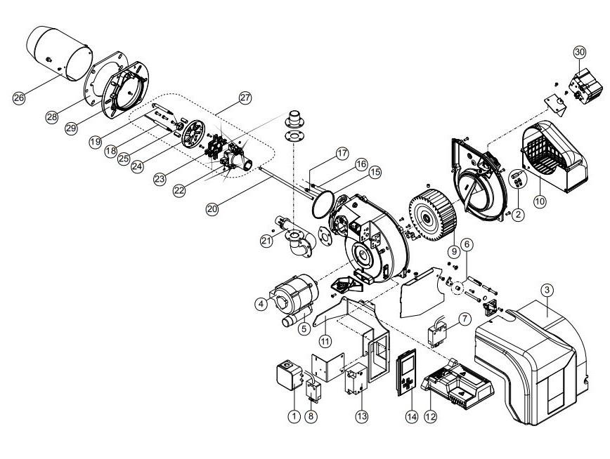 Ecoflam MAX GAS 250 PAB TW
