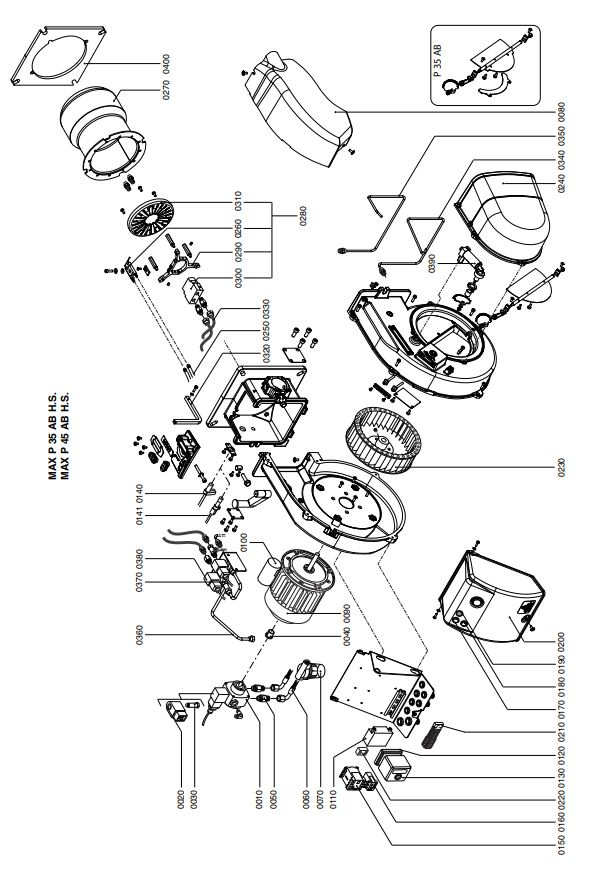 Ecoflam MAX P 45 AB HS