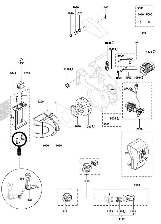 Elco /Cuenod EK EVO 6.2400 GL-EZ3/BT300