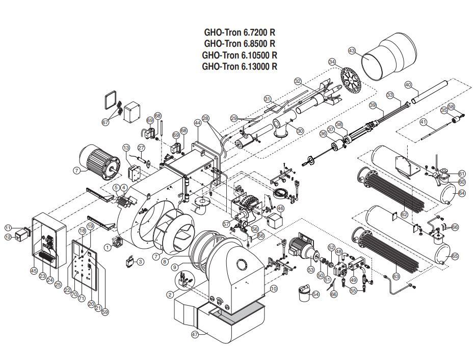 Elco /Cuenod GHO-TRON 6.10500 R