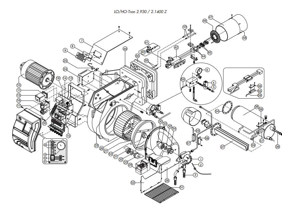 Elco /Cuenod HO-TRON 2.1400 Z