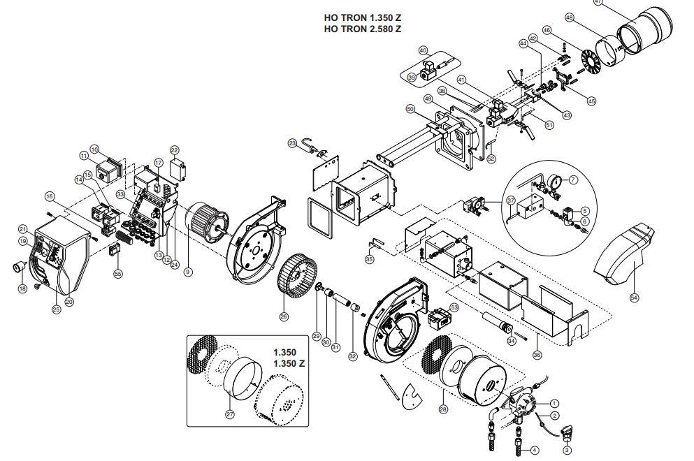 Elco /Cuenod HO-TRON 2.580 Z