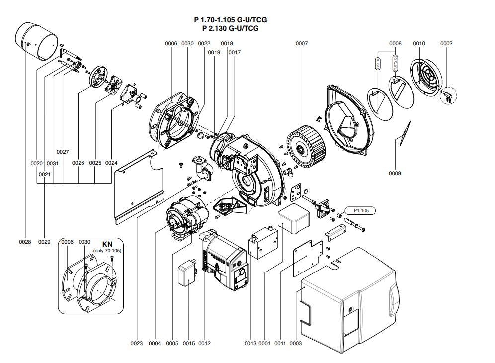 Elco /Cuenod Protron P1.105 G-U/TCG