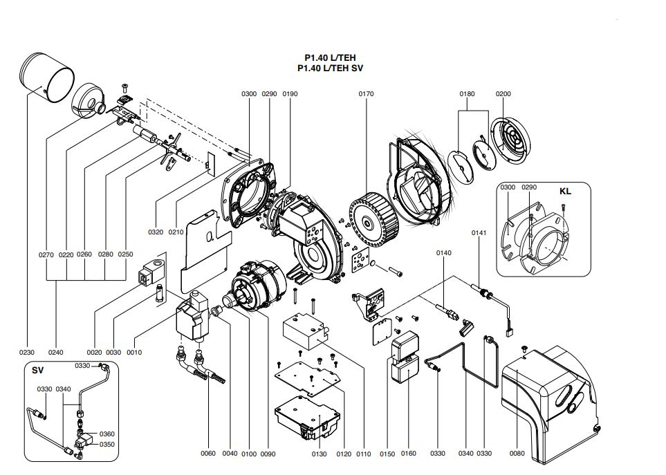 Elco /Cuenod Protron P1.40 L/TEH