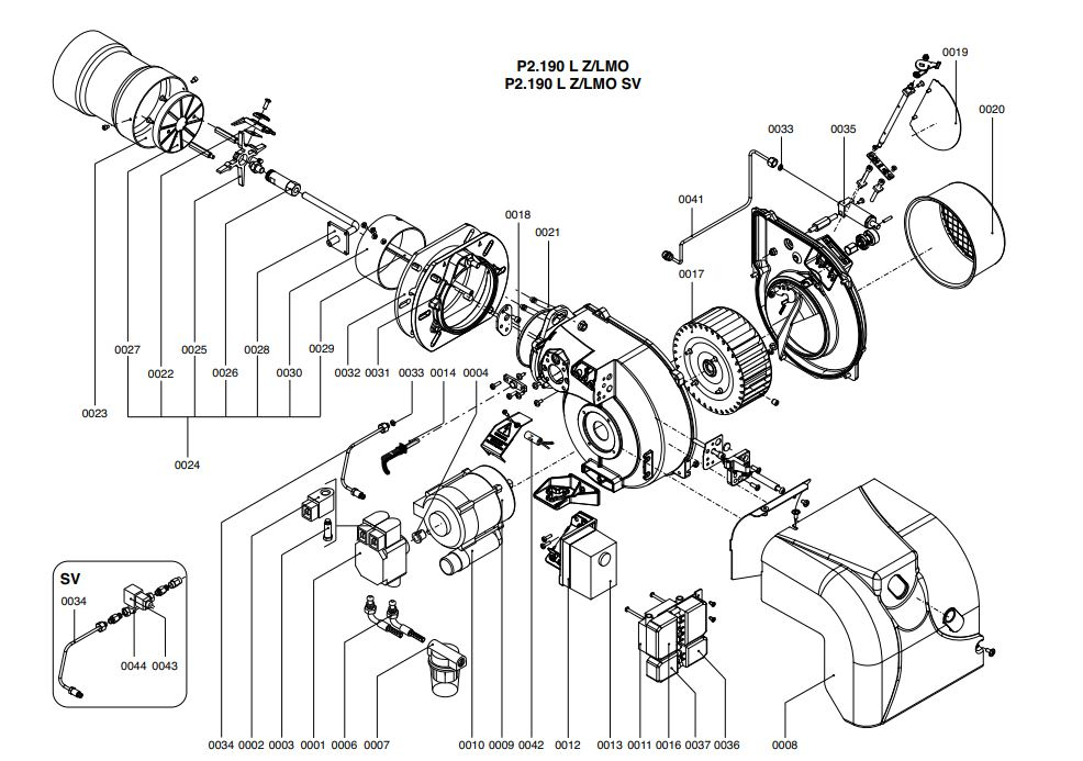 Elco /Cuenod Protron P2.190 L Z/LMO