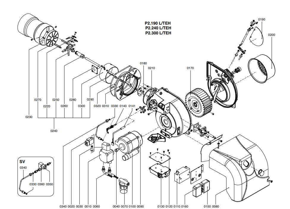 Elco /Cuenod Protron P2.240 L/TEH