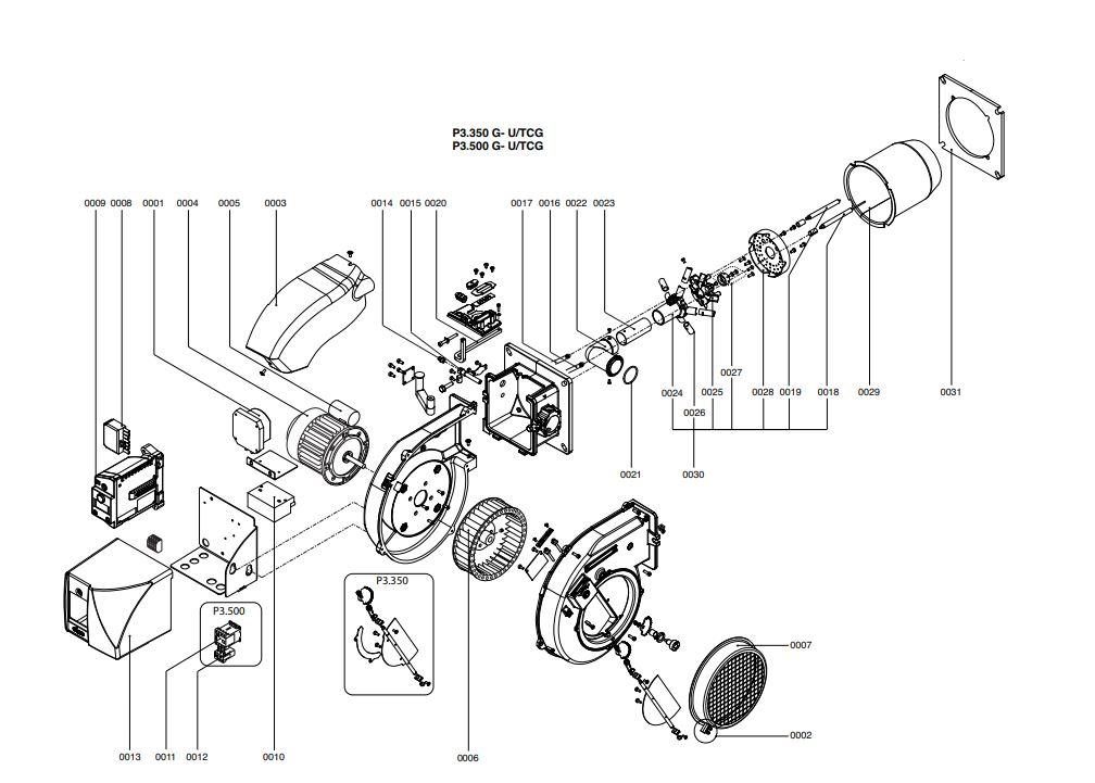 Elco /Cuenod Protron P3.500 G-U/TCG