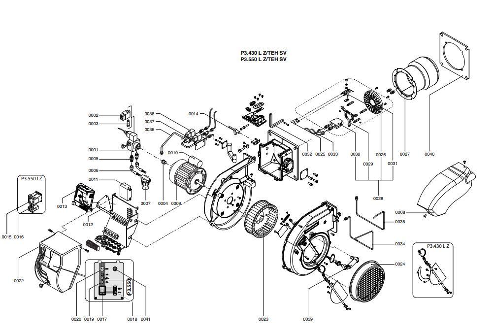 Elco /Cuenod Protron P3.550 L Z/TEH