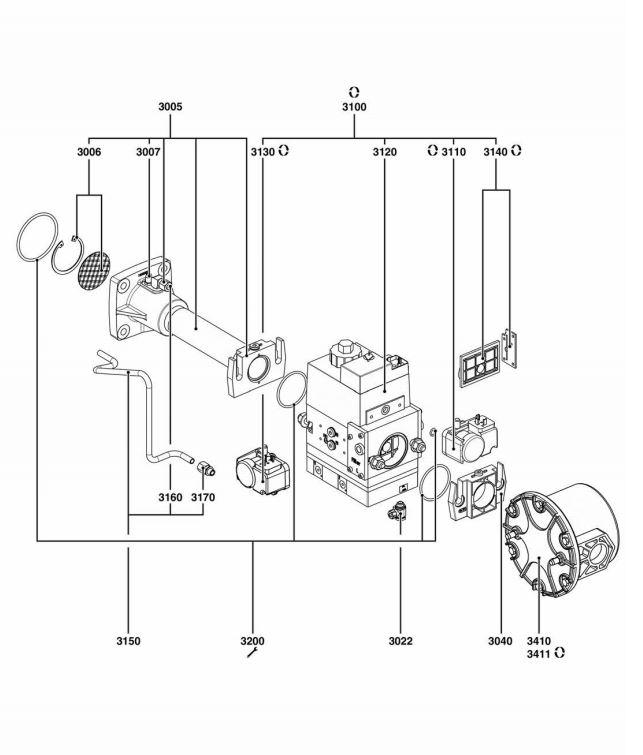Elco /Cuenod Vectron VG6.1600 DP R