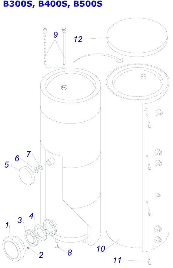 Protherm B300S, B400S, B500S