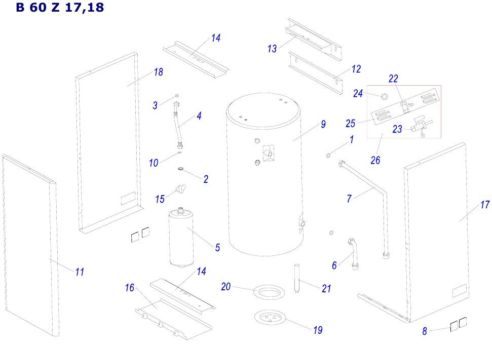 Protherm B60Z 17,18
