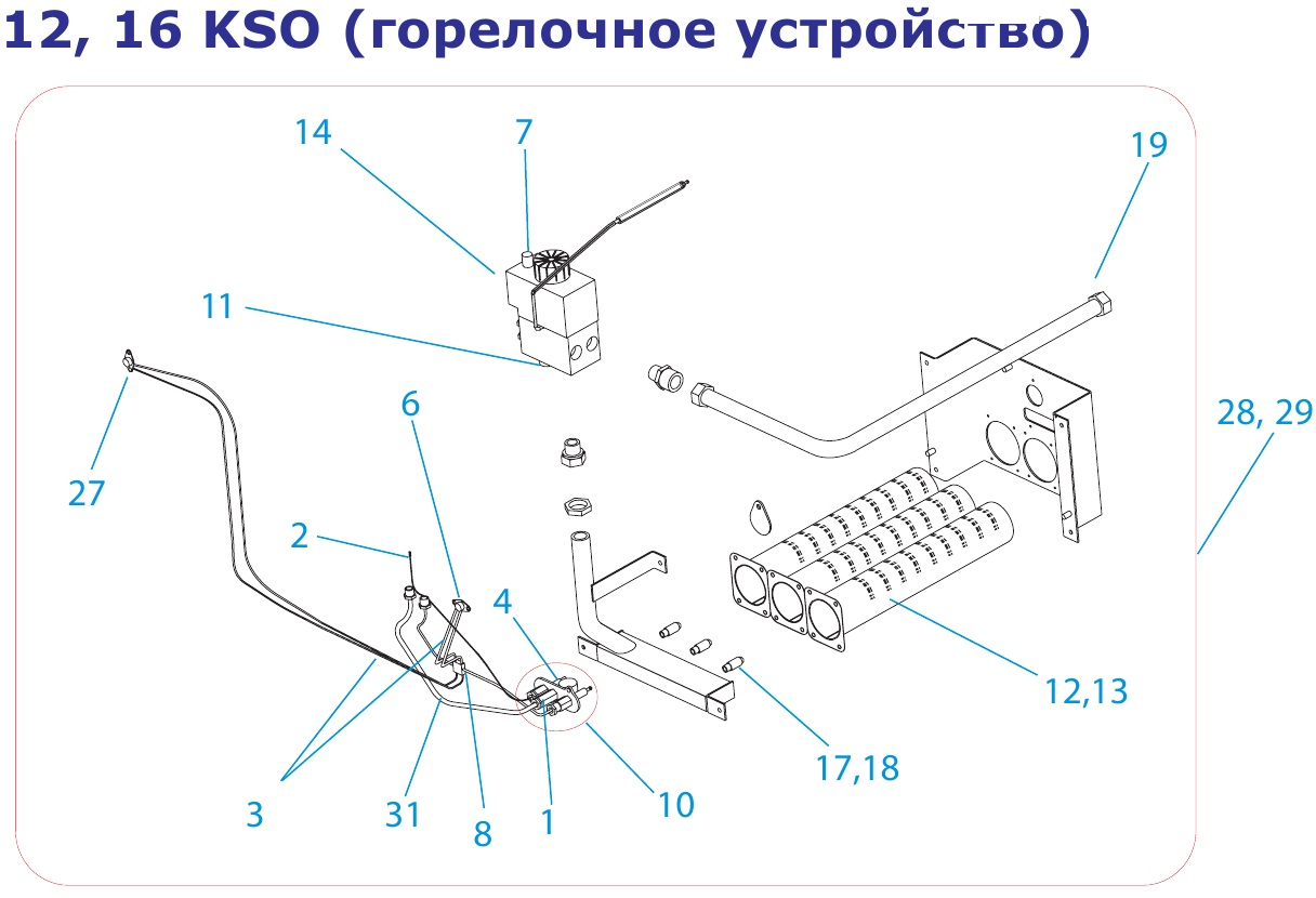 Protherm 12, 16 KSO