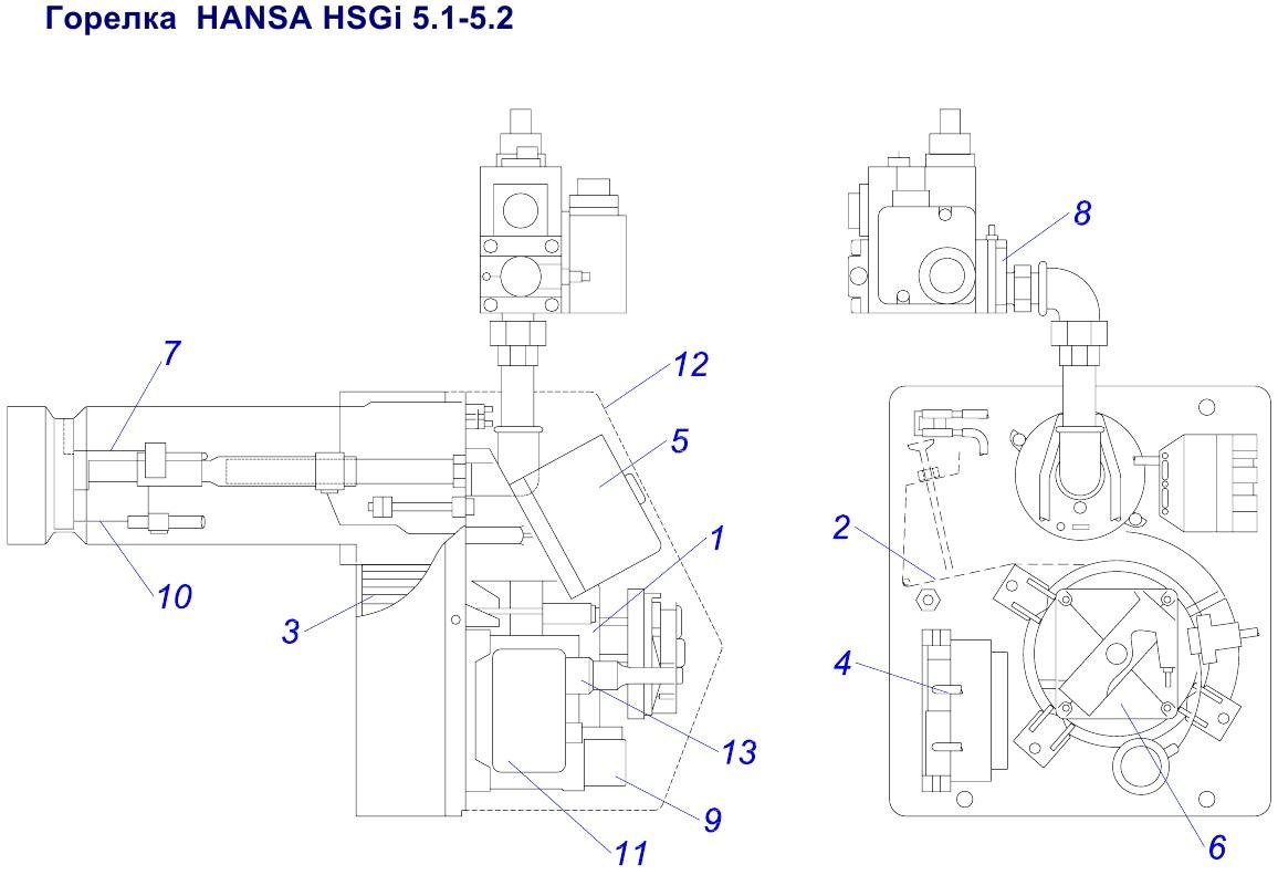 Protherm HANSA HSGi 5.1-5.2