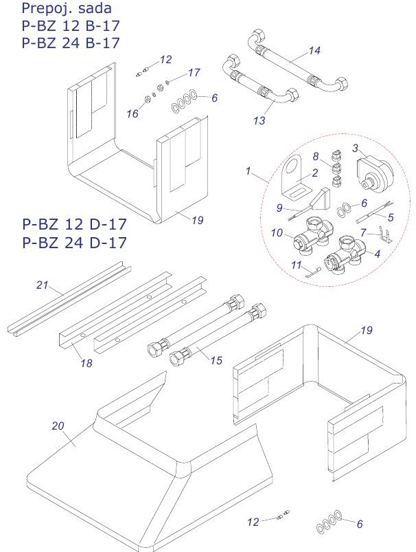 Protherm BZ-12B-17,24B-17,12D-17,24D-17
