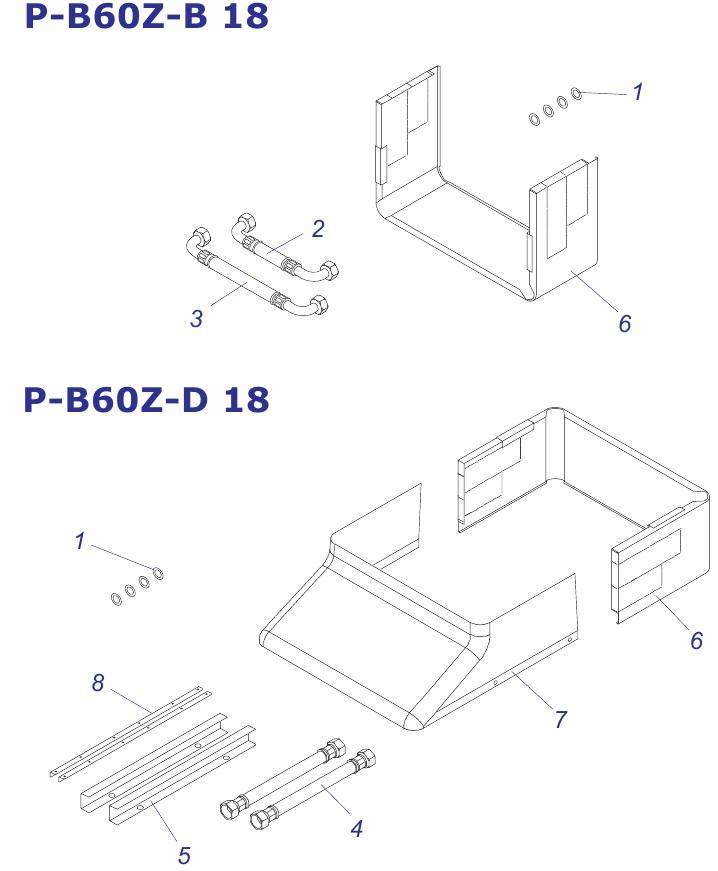 Protherm P-B60 Z-B18, Z-D18
