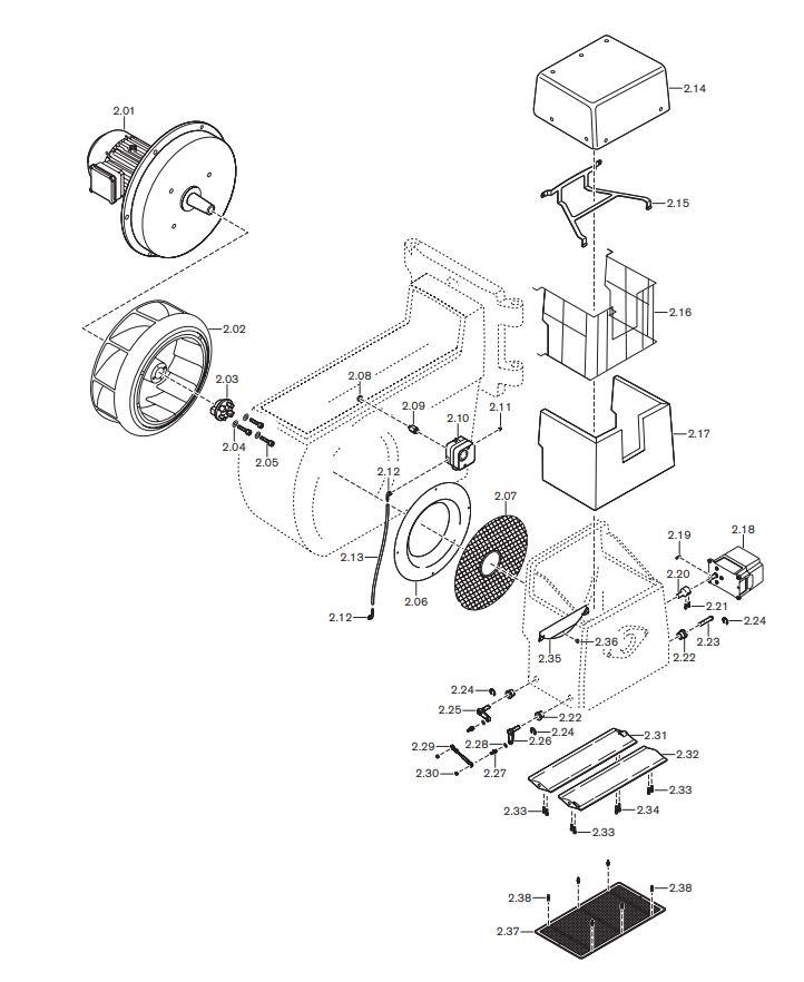 Газовая горелка Weishaupt G-70/4-A ZM-NR