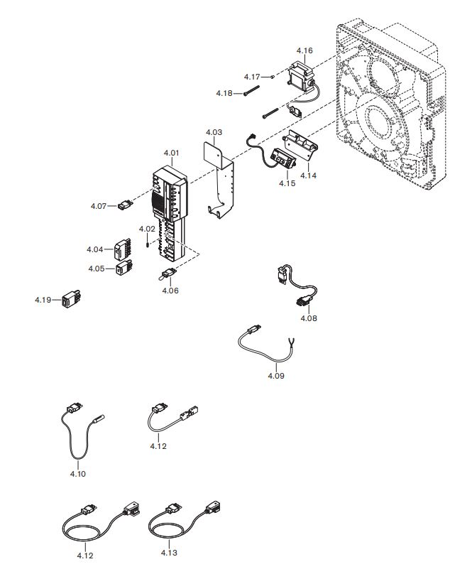 Газовая горелка Weishaupt WG 10 F/0-D ZM-LN