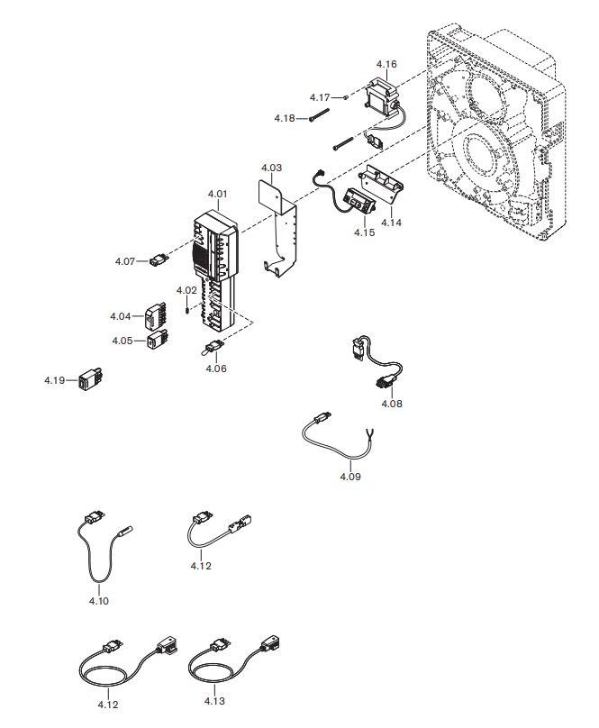 Газовая горелка Weishaupt WG 10 N/0-D ZM-LN