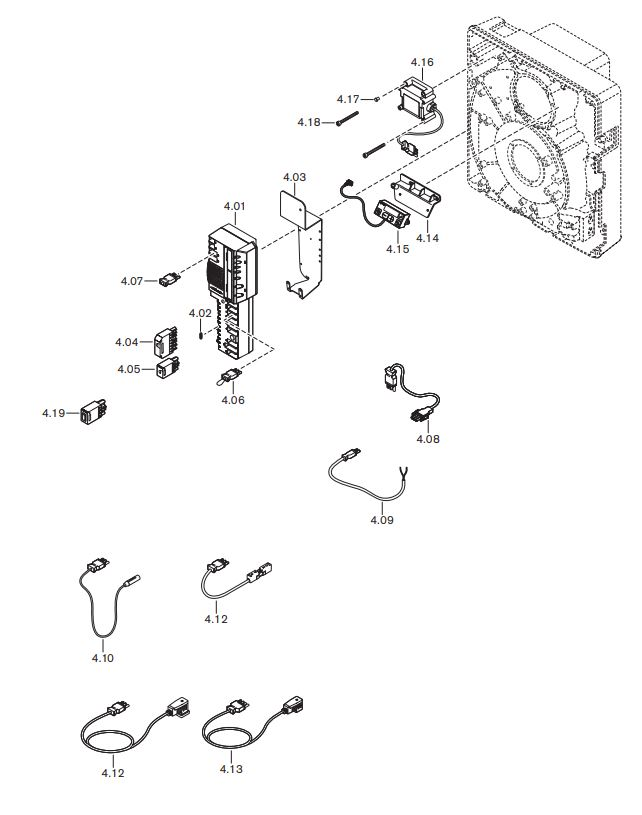 Газовая горелка Weishaupt WG 20 N/1-C ZM-LN