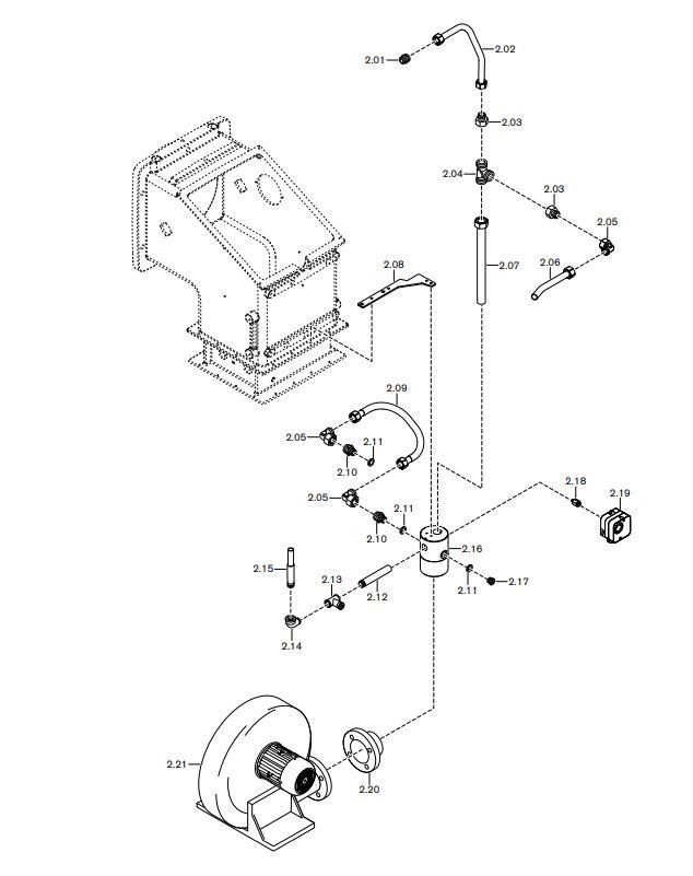 Газовая горелка Weishaupt WK-G 40/2-A ZM