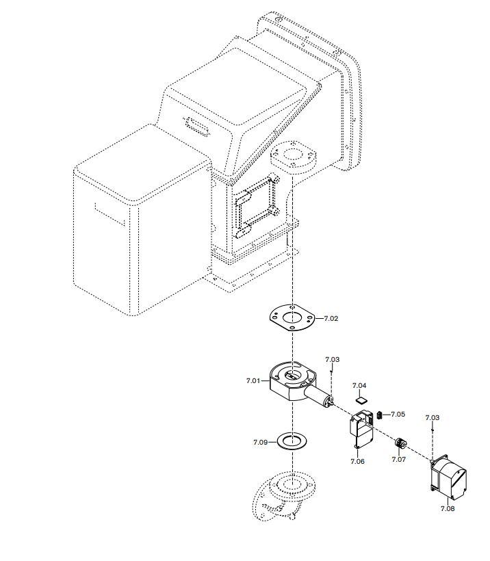 Газовая горелка Weishaupt WK-G 40/2-A ZM(H)