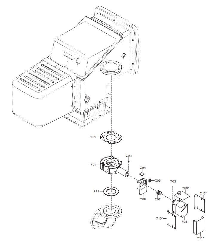 Газовая горелка Weishaupt WK-G 50/2-A ZM-NR