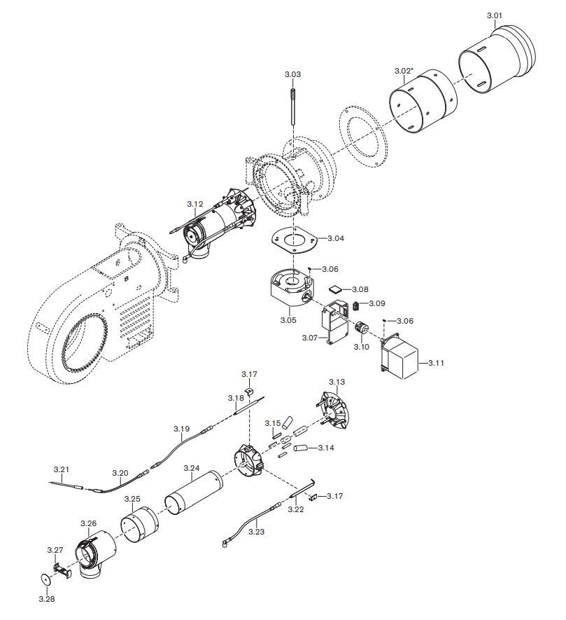 Газовая горелка Weishaupt WM-G 20/2-A ZMI
