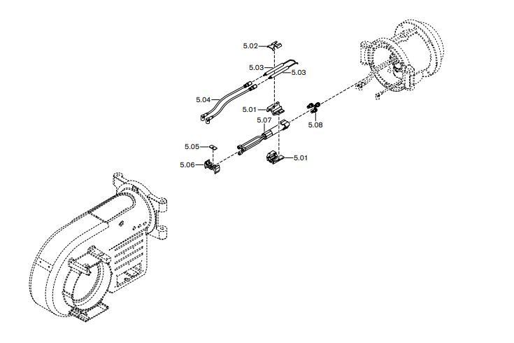 Газовая горелка Weishaupt WM-GL 10/1-A ZM-T