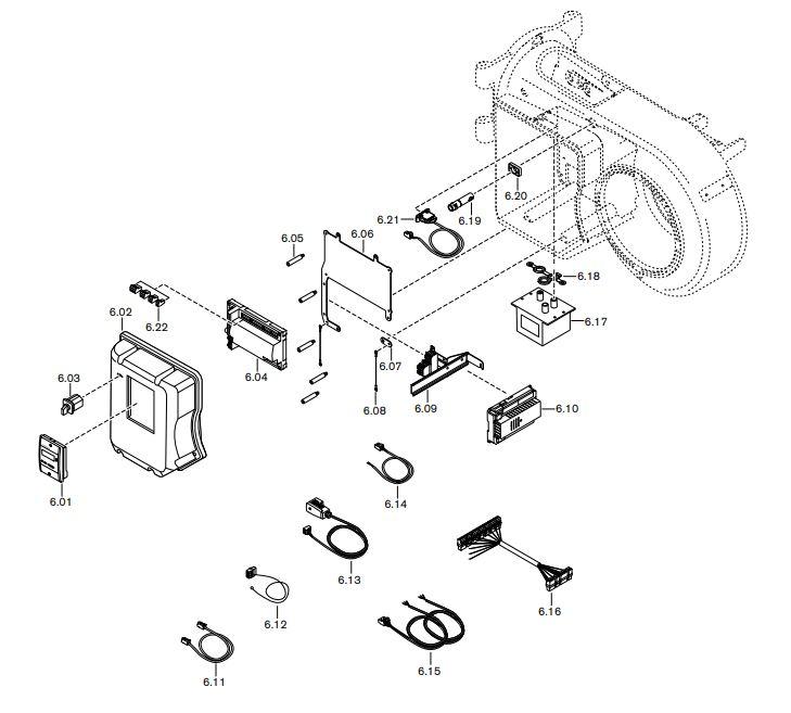 Газовая горелка Weishaupt WM-GL 10/2-A ZM-R