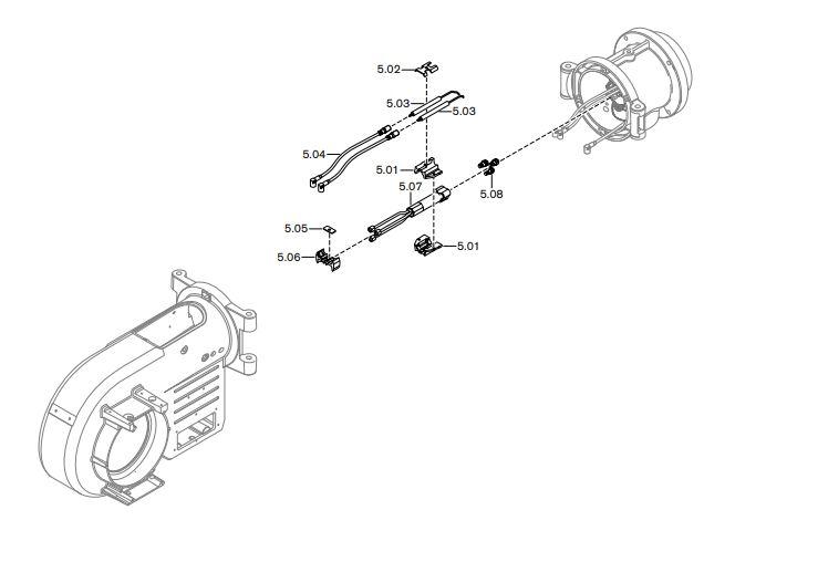 Газовая горелка Weishaupt WM-GL 10/2-A ZM-T