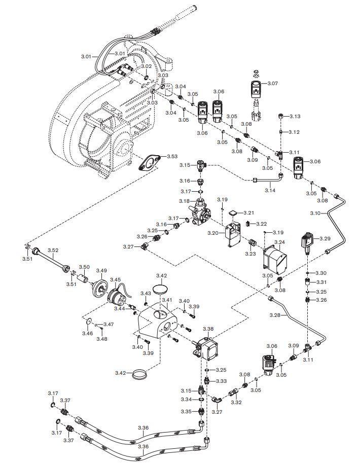 Газовая горелка Weishaupt WM-GL 10/3-A ZM-R