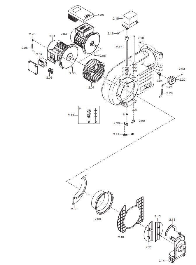 Газовая горелка Weishaupt WM-GL 10/4-A ZM-T