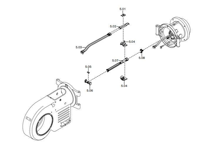 Газовая горелка Weishaupt WM-GL 20/2-A ZM-T