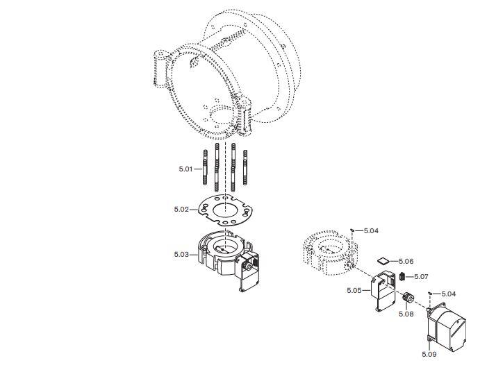 Газовая горелка Weishaupt WM-GS 30/1-A ZM-R